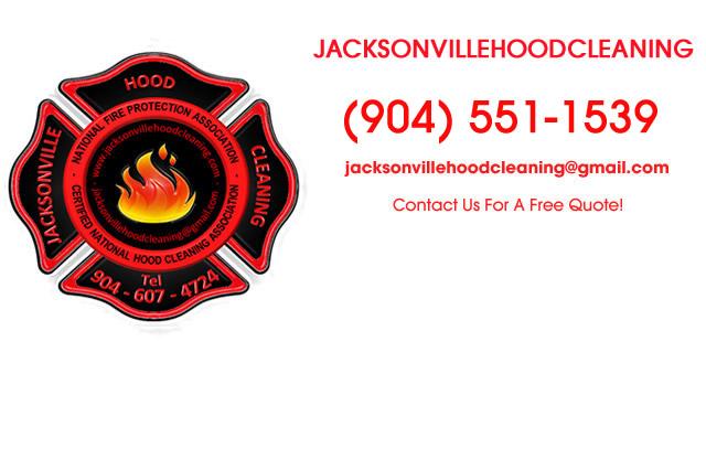 Jacksonville FL Kitchen Hood Cleaning