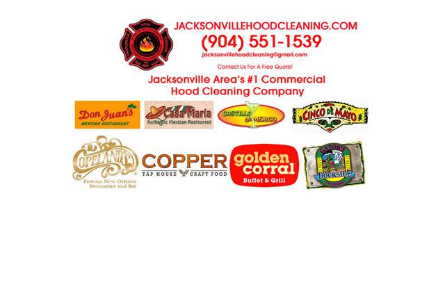 Jacksonville Hood Cleaning , Hood Cleaning Jacksonville Florida ,  Restaurant Hood Cleaning Jacksonville FL