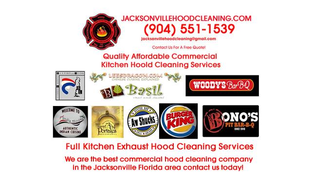 Restaurant Vent Hood Cleaning Jacksonville FL