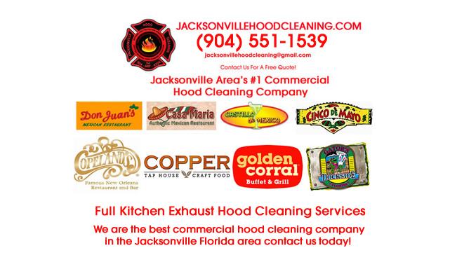 Restaurant Hood Cleaning Near Jacksonville FL