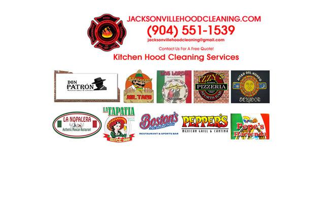 Jacksonville Restaurant Vent Cleaners