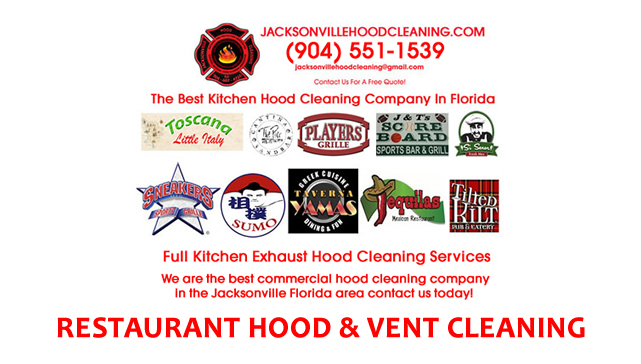 North East Florida Commercial Kitchen Hood Cleaning