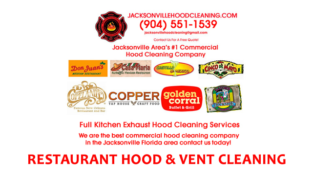 Licensed Kitchen Ventilation Hood Cleaning Jacksonville