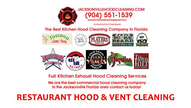Kitchen Ventilation Hood Cleaning Jacksonville
