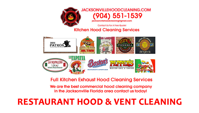Kitchen Exhaust Hood Cleaning Jacksonville Florida