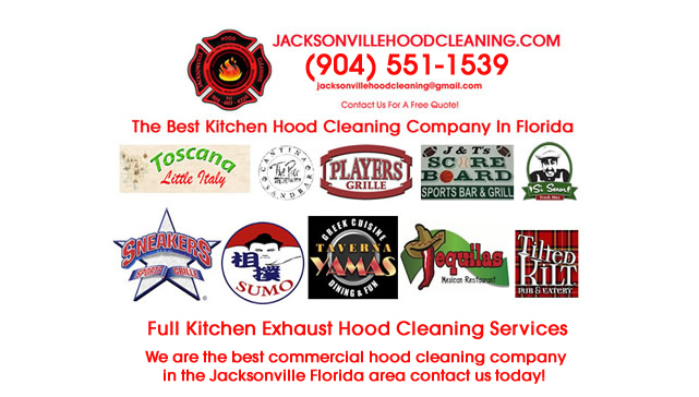 Licensed Hotel Kitchen Hood Cleaners JAX Florida