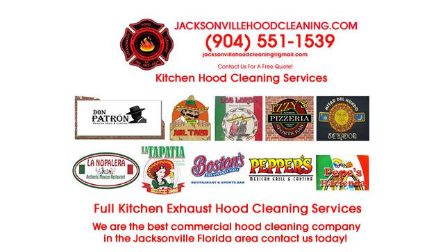 Restaurant Exhaust Hood Maintenance Jacksonville Duval County Florida