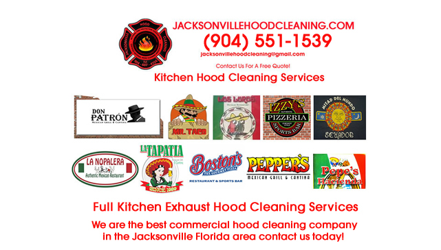 Commercial Exhaust Hood Cleaning Near Me Jacksonville FL